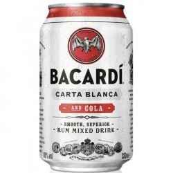12 x Bacardi Cola in Dose...