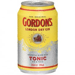 12 x Gordon's Gin & Tonic...