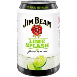 12 x Jim Beam Lime Splash...