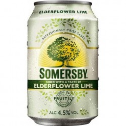 24 x Somersby Elderflower...