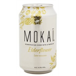18 x MOKAÏ Elderflower 4,5%...